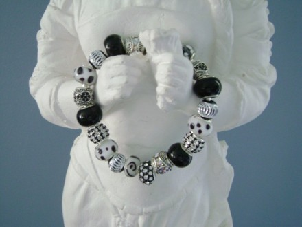 Black, White & Silver