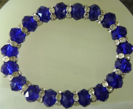 Sapphire Coloreds Crystal