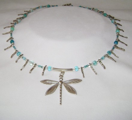 "21 1/2"" Dragonfly Necklace"